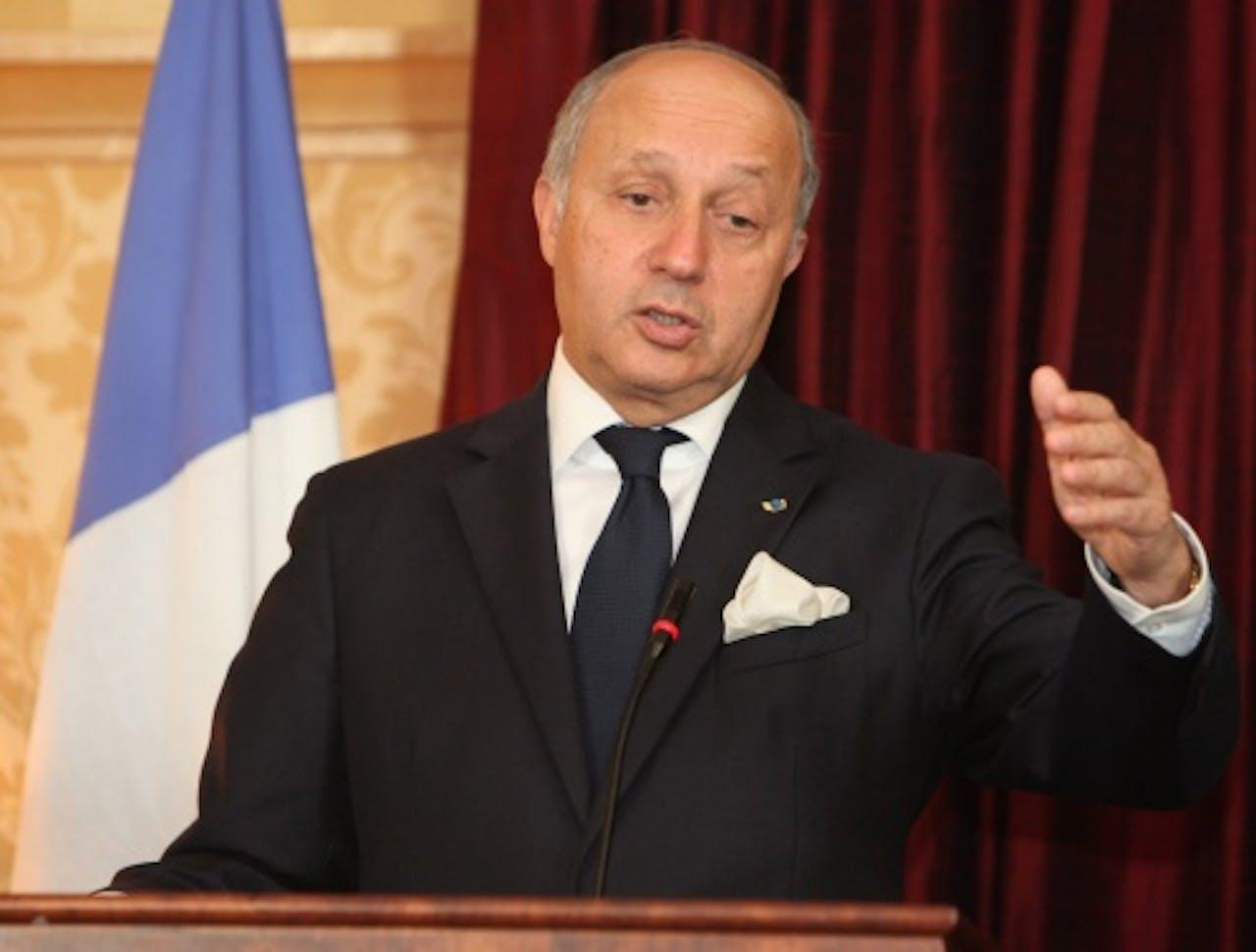 Laurent Fabius. EPA