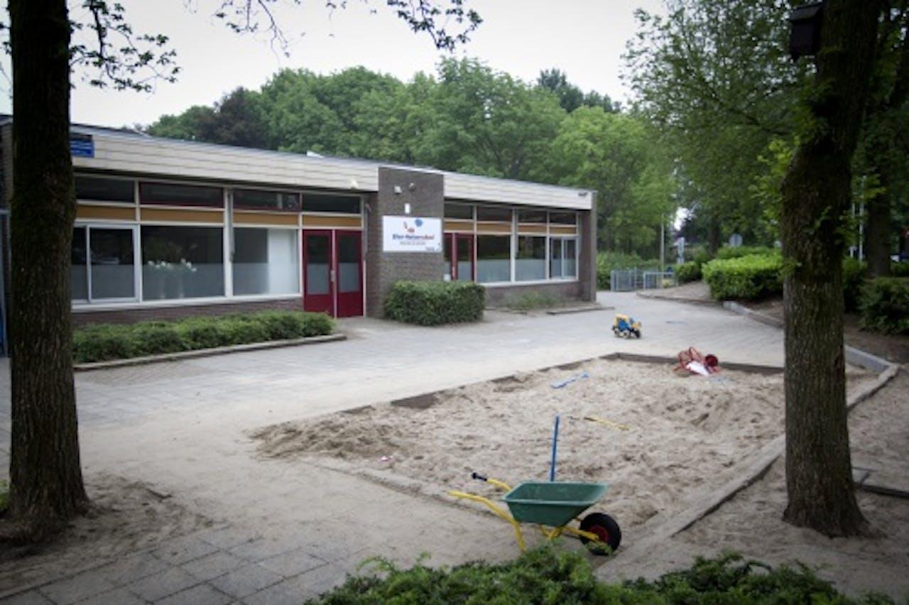 Reformatorische school in Barneveld, waar leerlingen vermoedelijk met mazelen besmet zijn. ANP