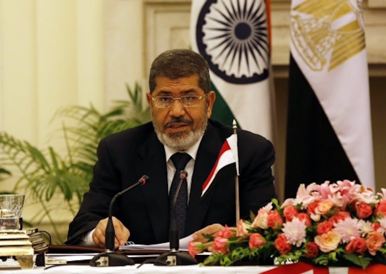 Archiefbeeld Mohamed Mursi. EPA