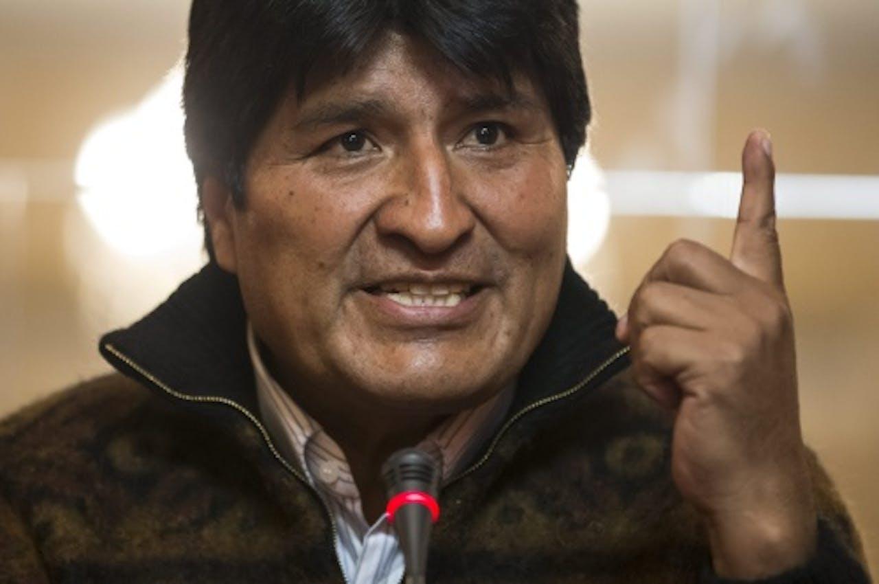 President Evo Morales. EPA
