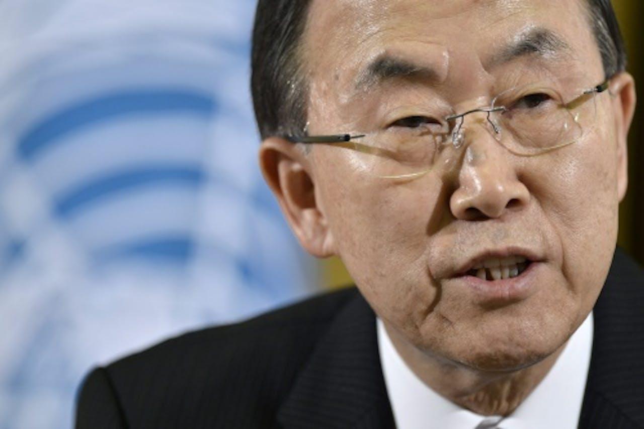Ban Ki-Moon. EPA