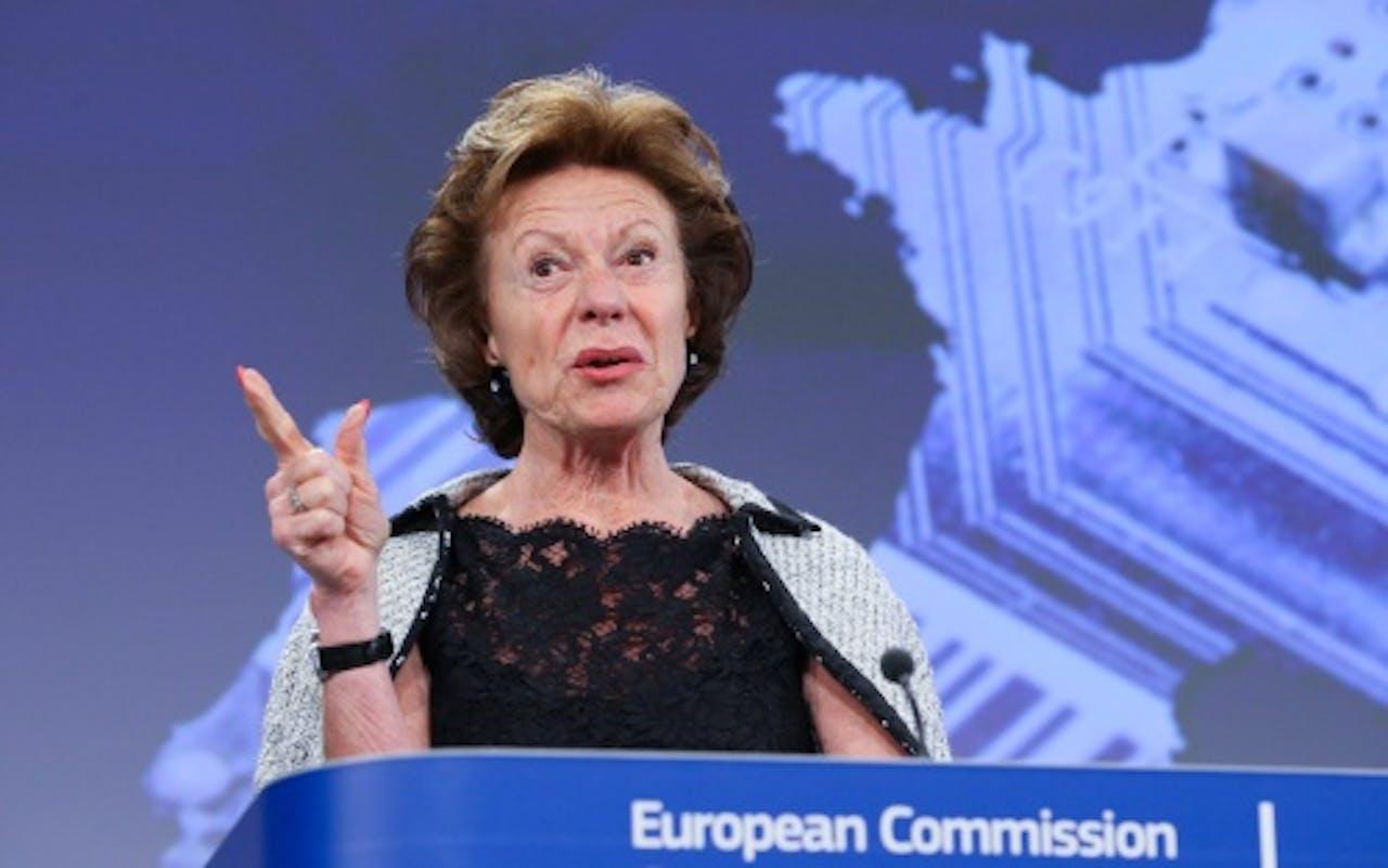 Neelie Kroes. EPA