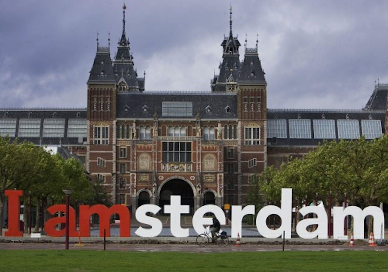 Het Rijksmuseum in Amsterdam. ANP