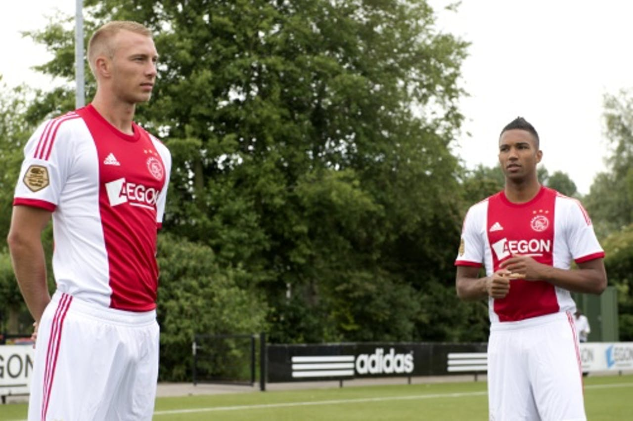 Mike van der Hoorn (L) en Danny Hoesen, ANP