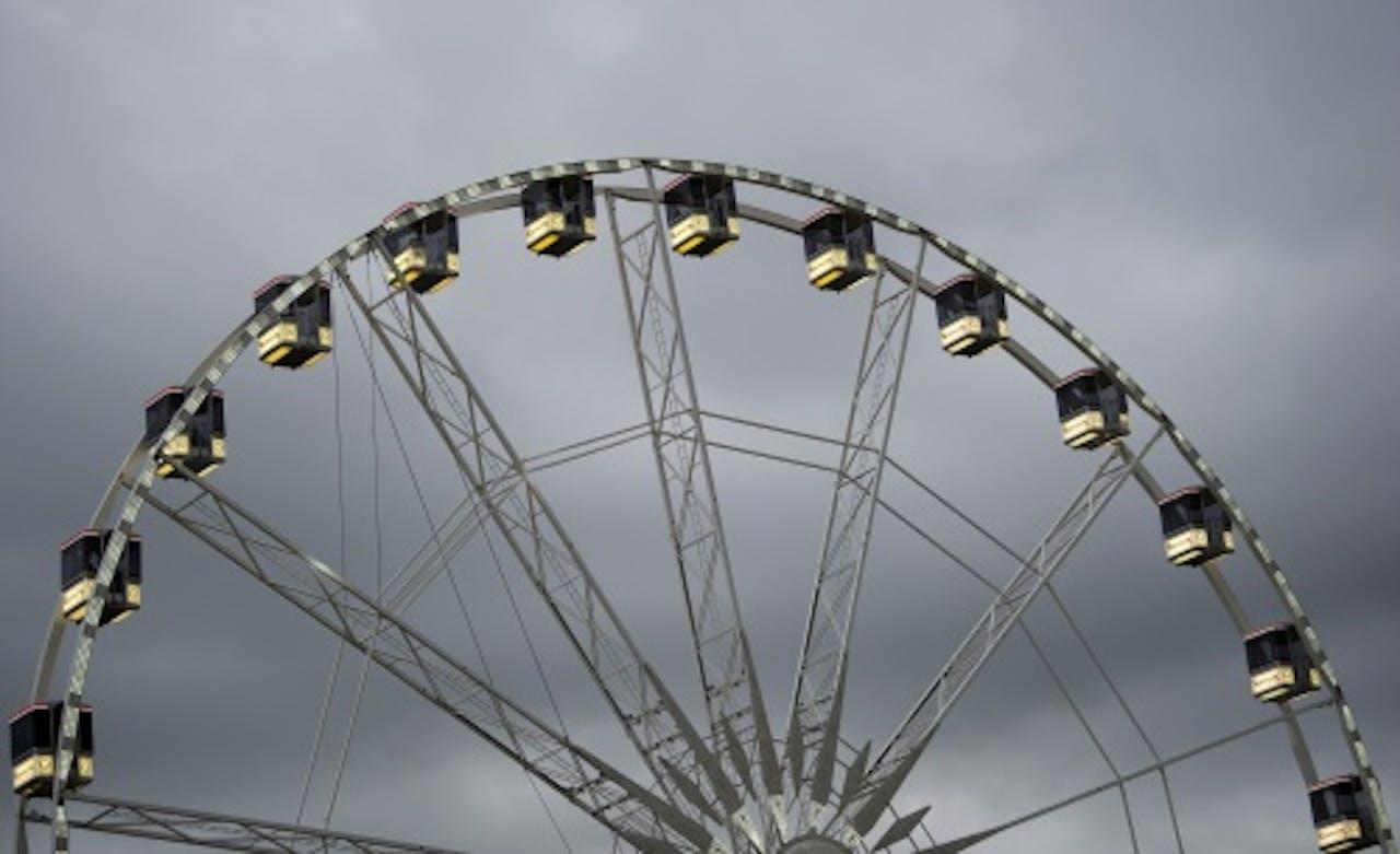 Archiefbeeld van een reuzenrad. ANP