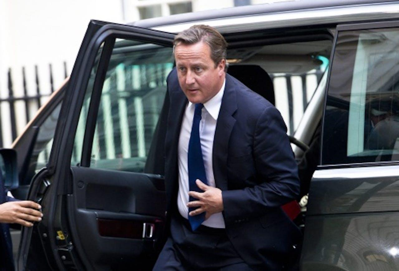 De Britse premier David Cameron. EPA