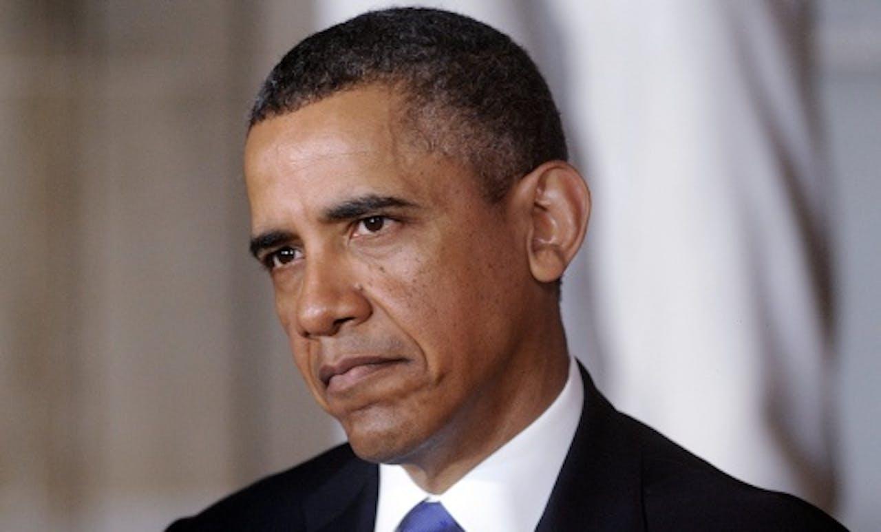 Archiefbeeld van Barack Obama. EPA