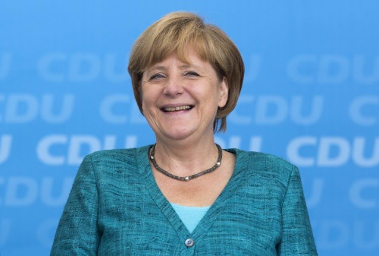 Angela Merkel CDU. EPA