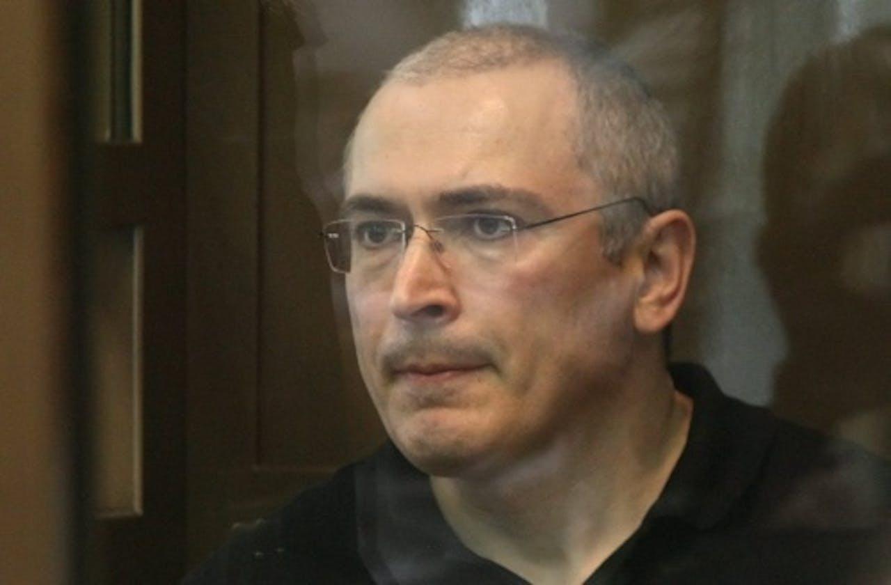 Michail Chodorkovski (archiefbeeld 2011). EPA