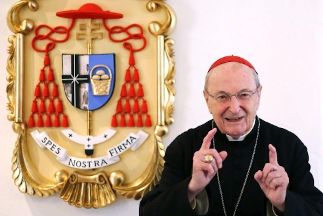 Archiefbeeld aartsbisschop Meisner. EPA