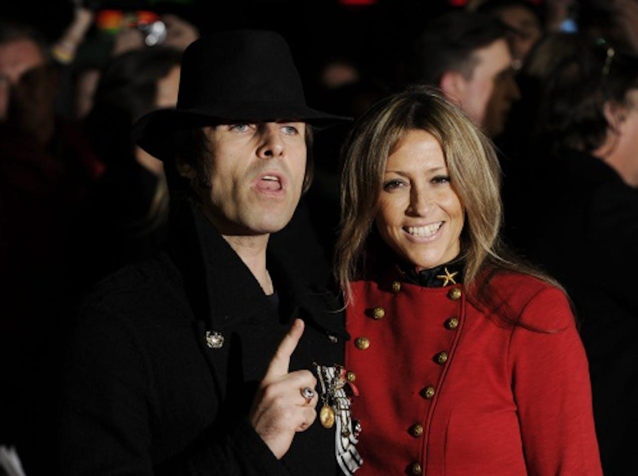 Nicole en Liam Gallagher in betere tijden. EPA