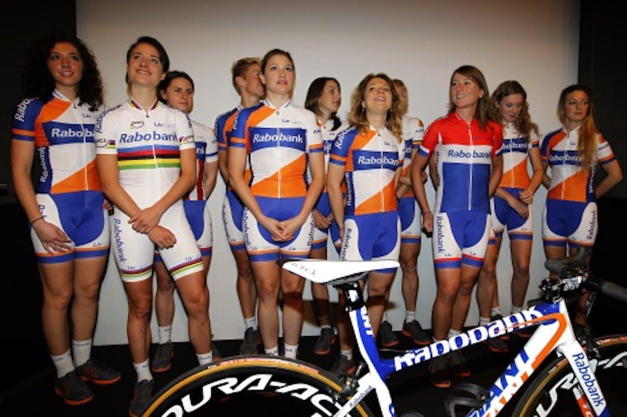 Rabobank/Liv Giant ploeg. ANP