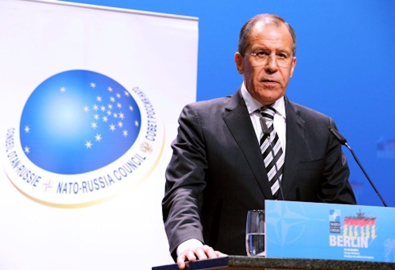 Sergej Lavrov. EPA