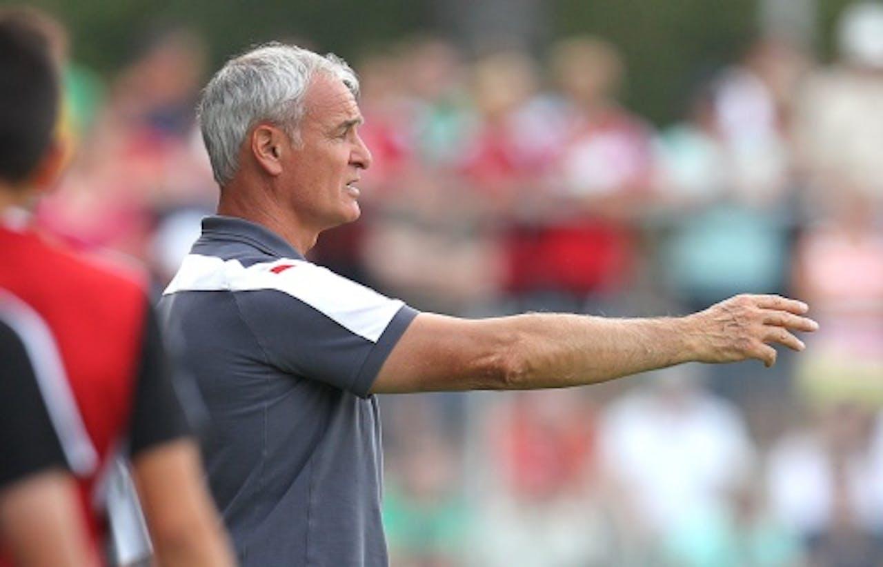 Trainer Claudio Ranieri. EPA