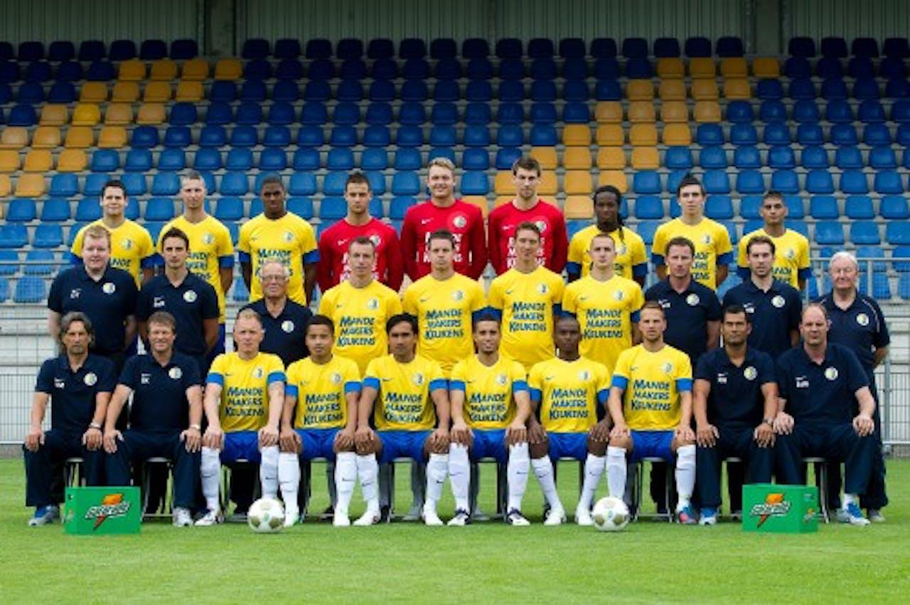 Jeff Stans (4e van rechts middenrij), teamforo RKC Waalwijk. ANP
