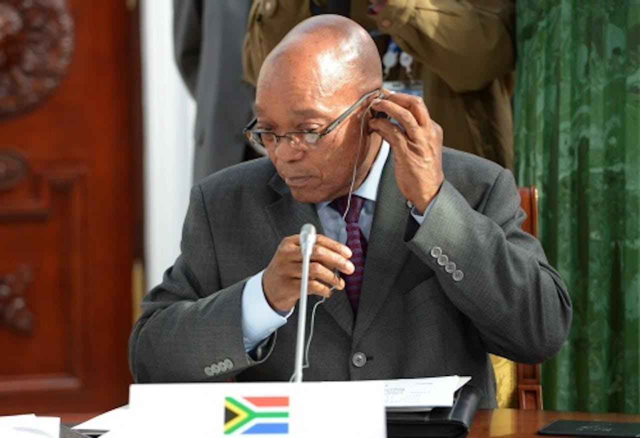 Jacob Zuma. EPA