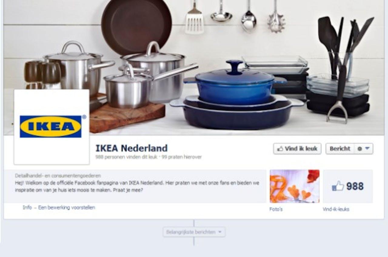 IKEA Nederland wil klanten actief bereiken via sociale media