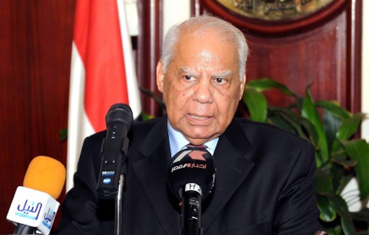 Archiefbeeld Hazem el-Beblawi. EPA