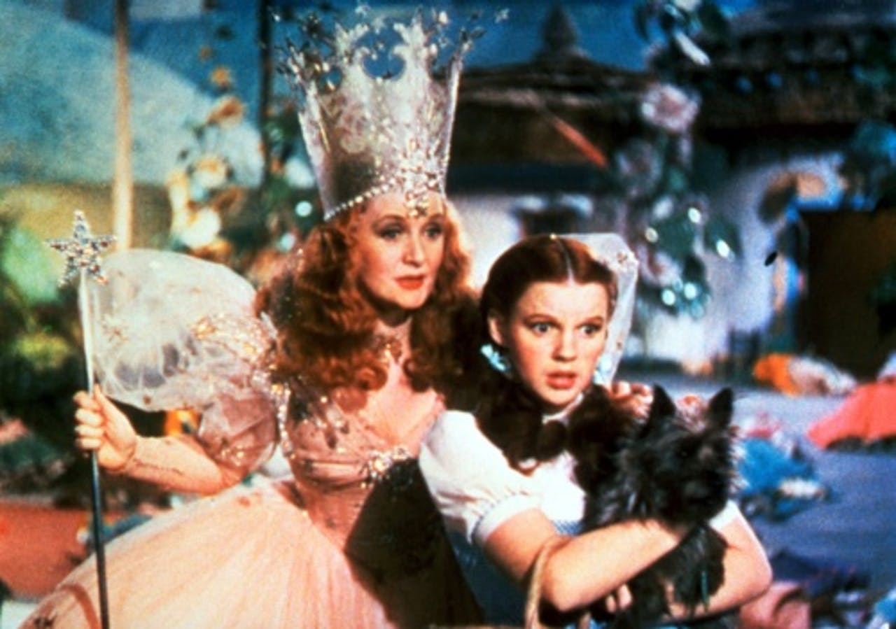 De film The Wizard of OZ uit 1939 met Judy Garland. ANP Kippa