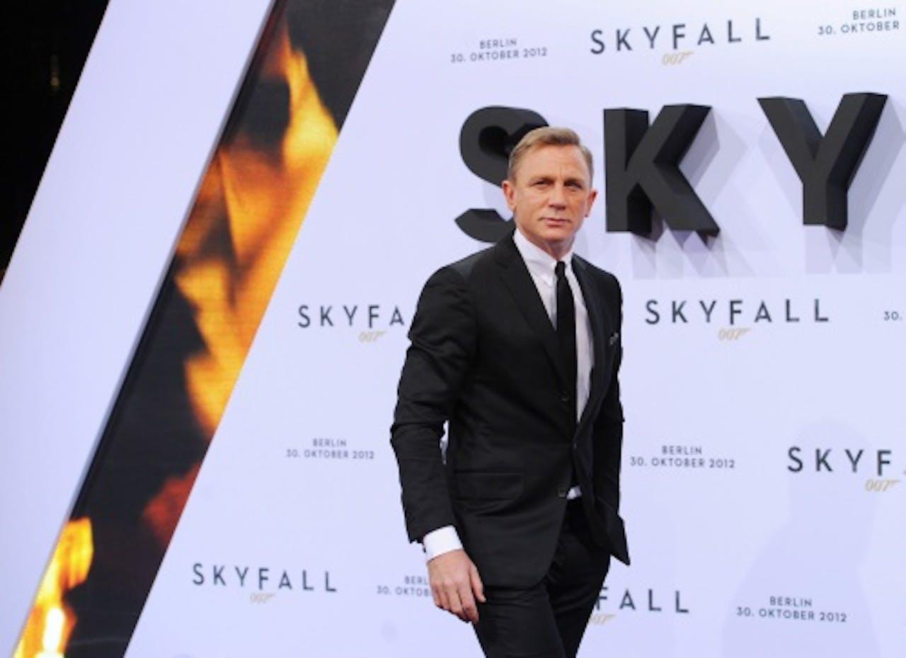 Daniel Craig (James Bond). EPA