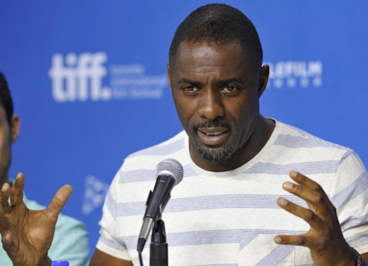 Idris Elba. EPA