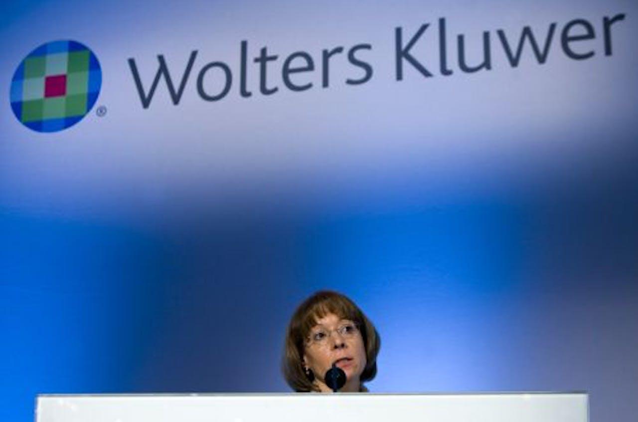 Nancy McKinstry, bestuursvoorzitter van Wolters Kluwer. ANP