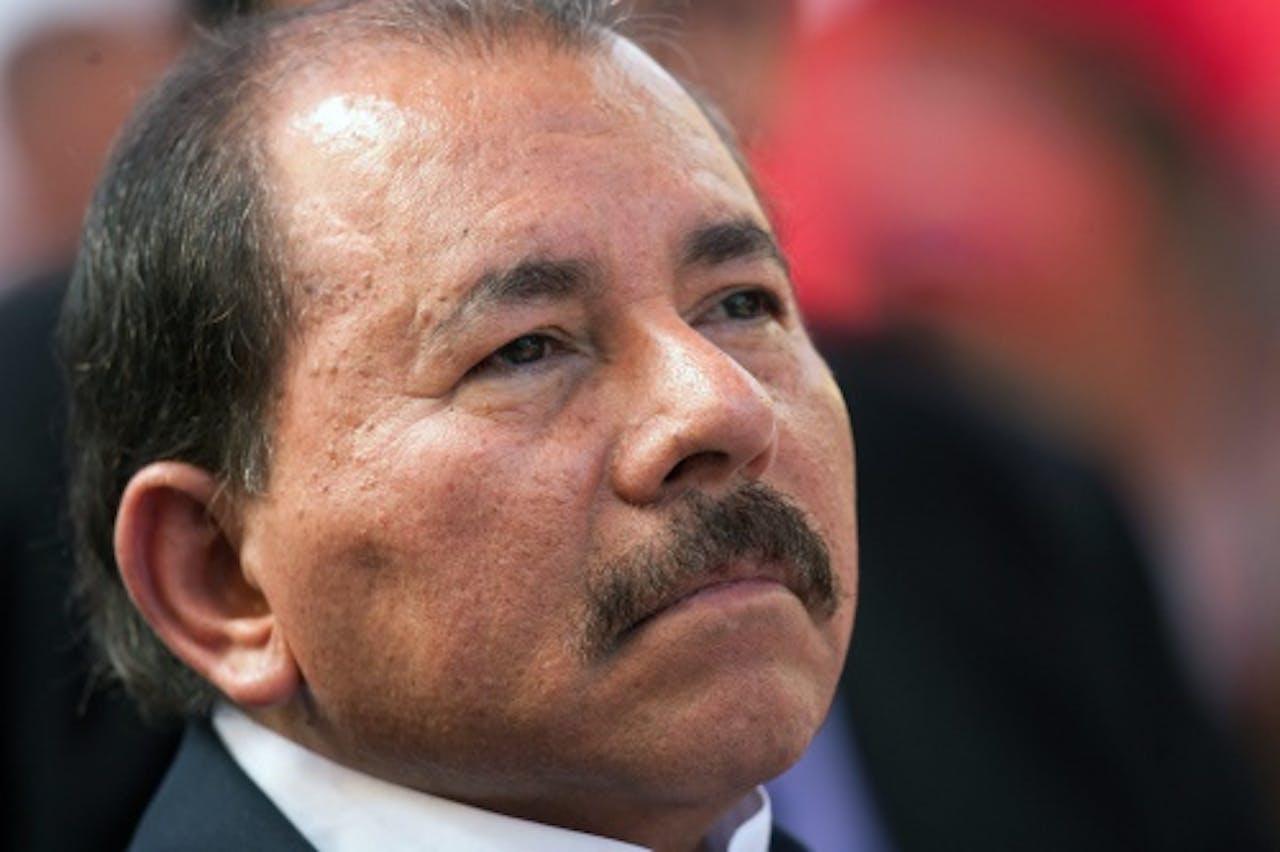 President Daniel Ortega van Nicaragua (EPA)