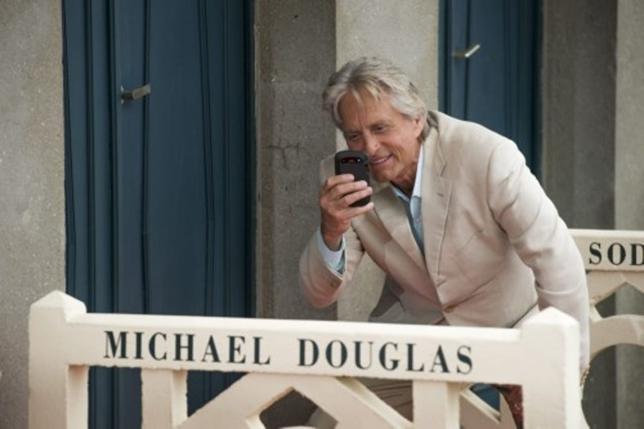 Michael Douglas. EPA
