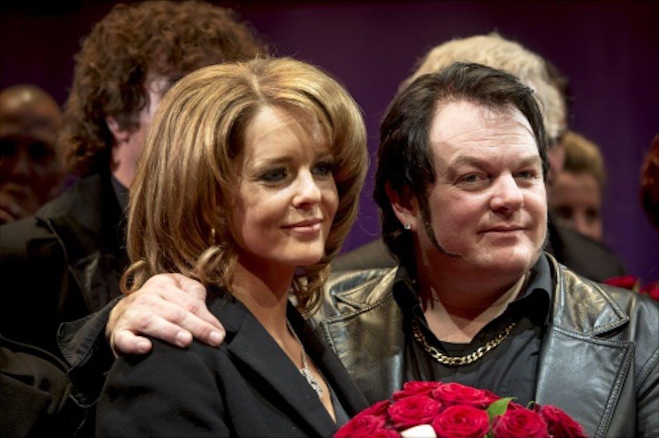 Chantal Janzen en Martijn Fischer. Foto: ANP Kippa