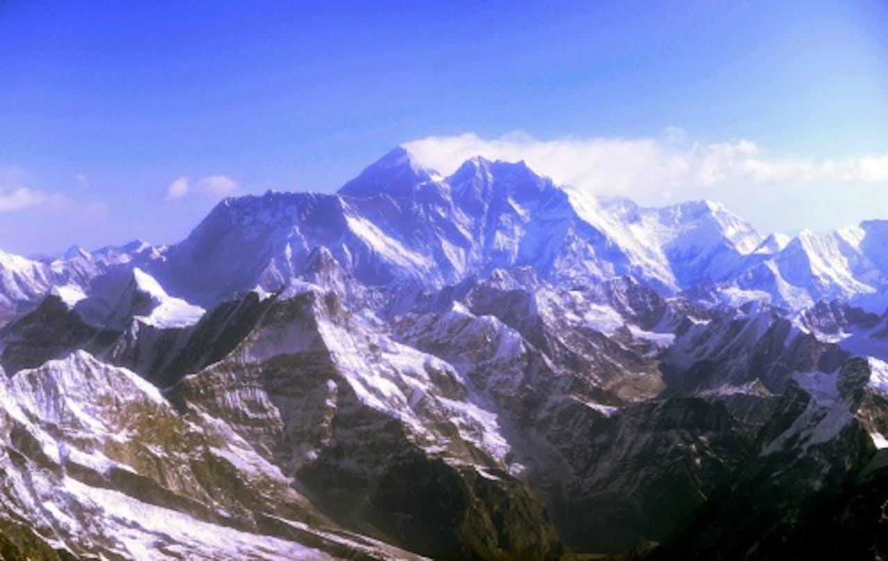 Archiefbeeld Mount Everest. EPA