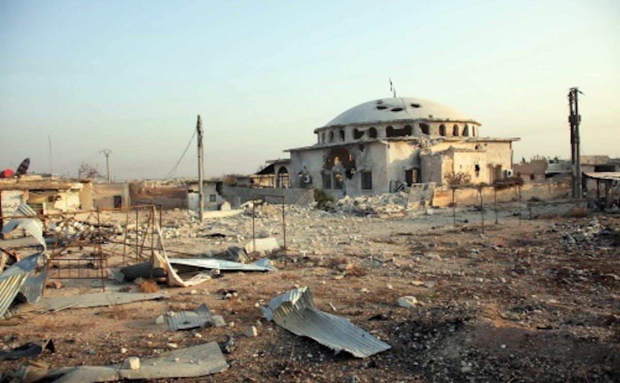 Archiefbeeld van Aleppo. EPA