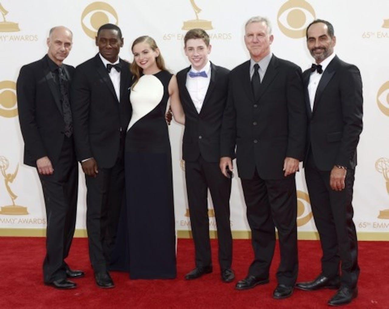 De cast van Homeland. EPA