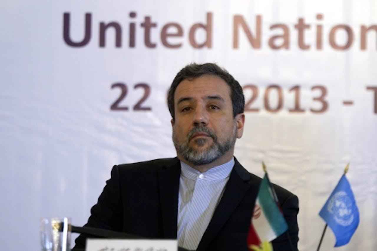 Abbas Araghchi. EPA