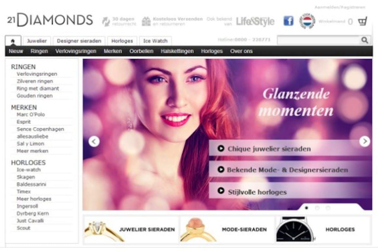 21DIAMONDS opent webwinkels in achttien landen met hybris