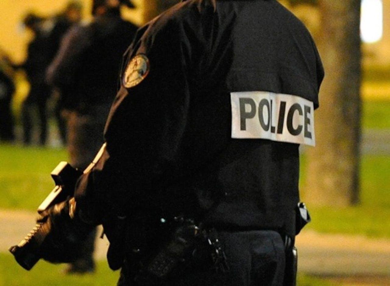 Archiefbeeld van een Franse politieman. EPA