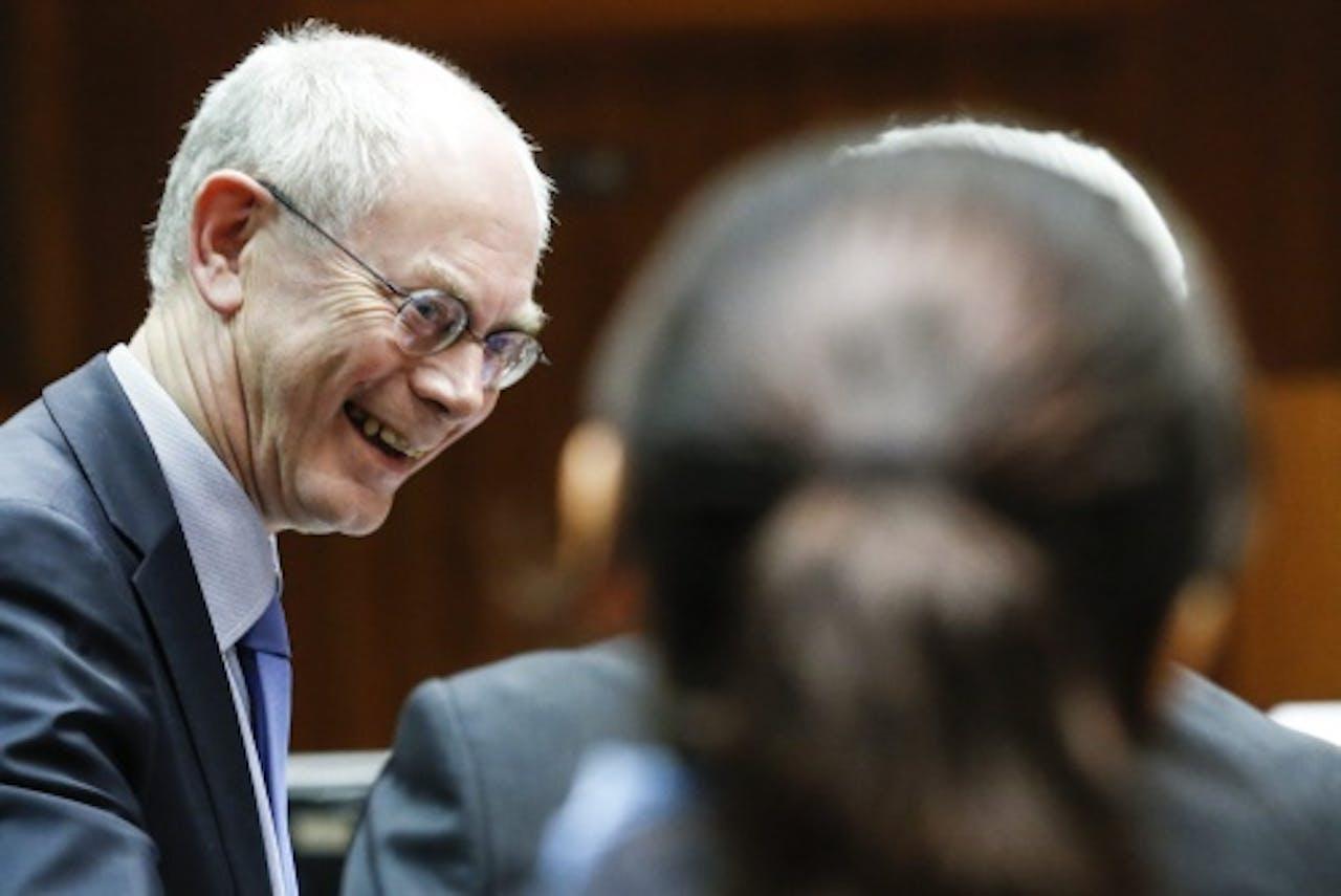 Archiefbeeld van Herman van Rompuy. EPA