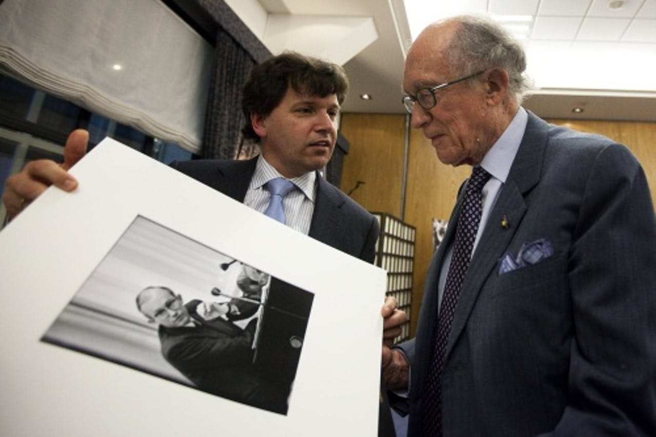 (Archieffoto 2009, Johan Witteveen (R). ANP