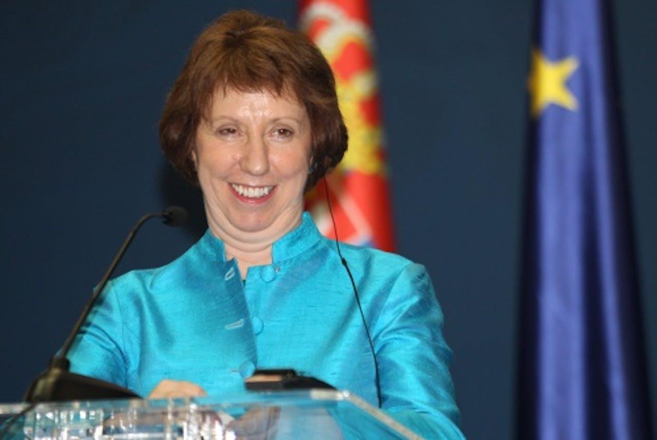 EU-buitenlandchef Catherine Ashton. EPA