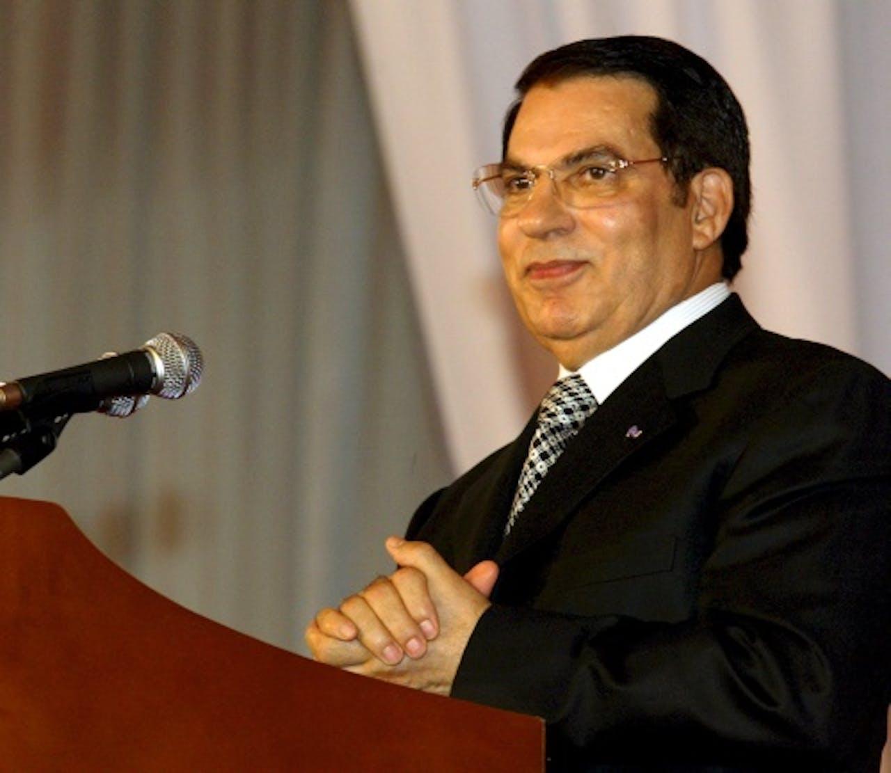 Voormalig president Zine al-Abidine Ben Ali, EPA