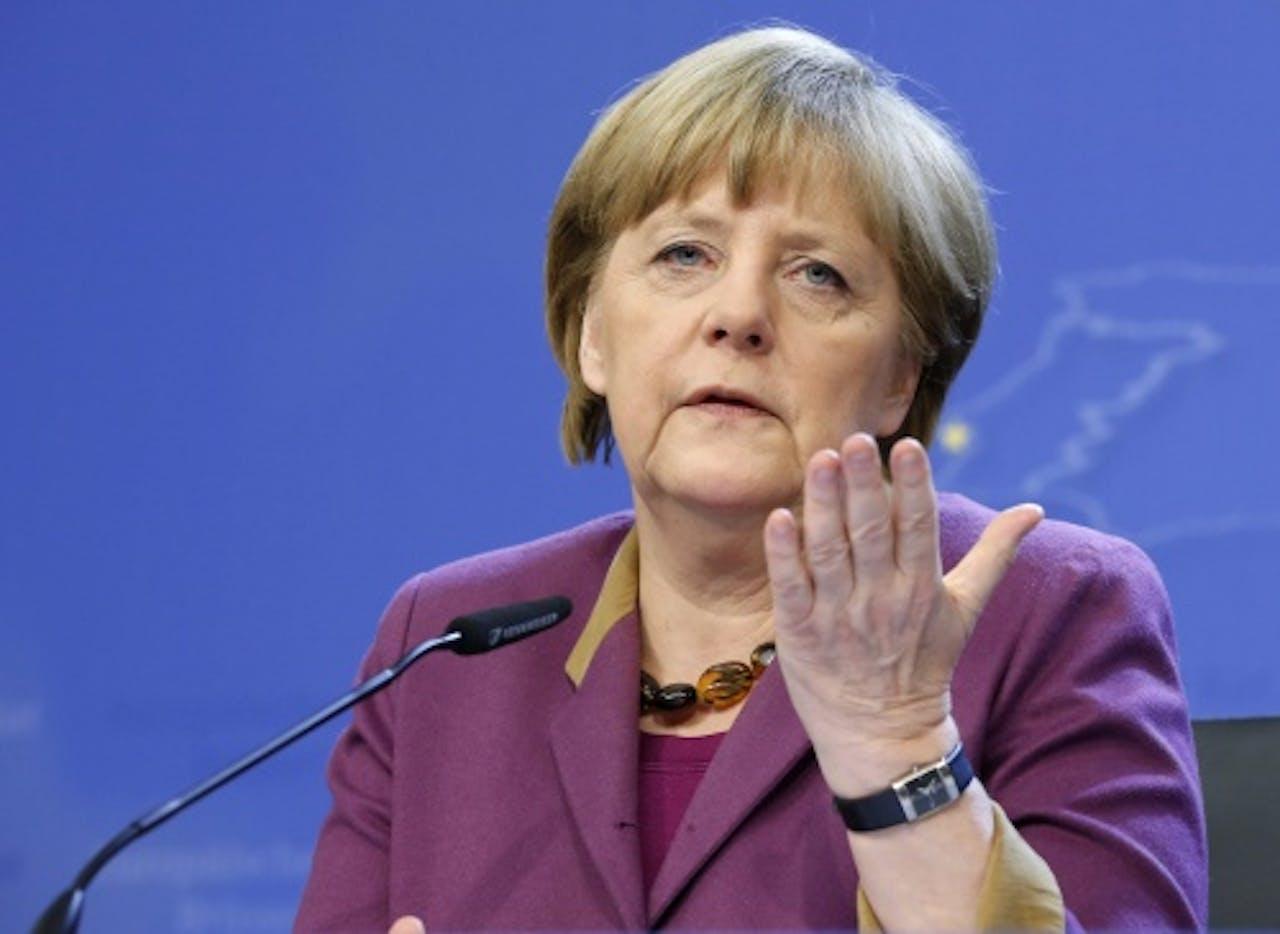 Archiefbeeld Angela Merkel. EPA