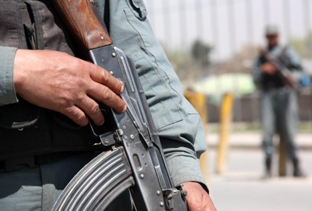 Een Afghaanse soldaat. EPA