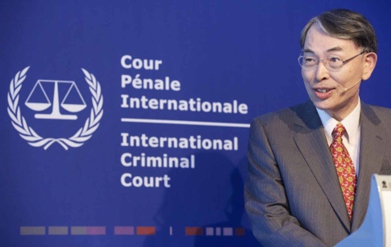 ICC-president Song Sang-hyun. ANP