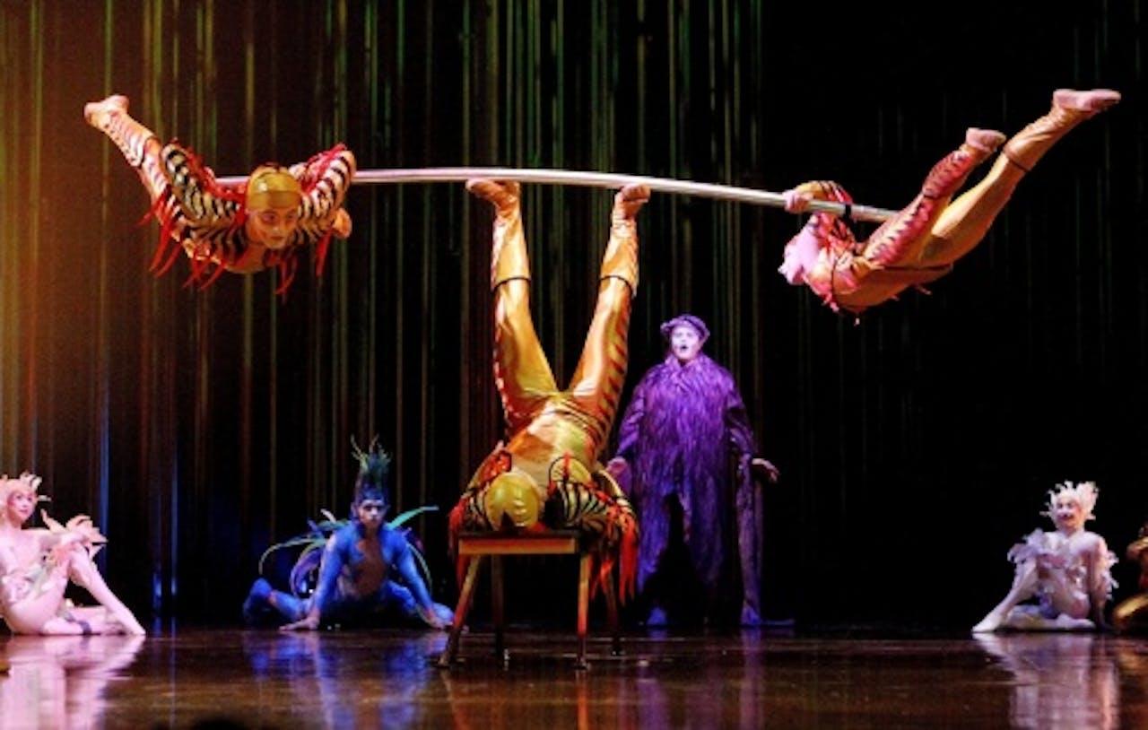 Archiefbeeld van een show van Cirque du Soleil. EPA