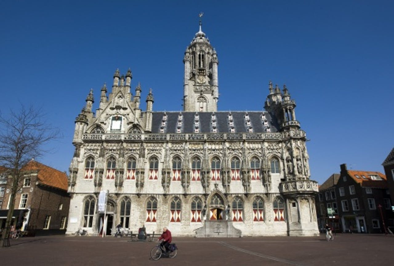 Het oude stadhuis van Middelburg. ANP