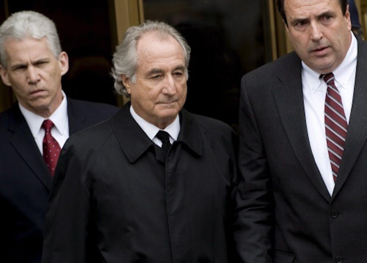 Bernie Madoff. EPA