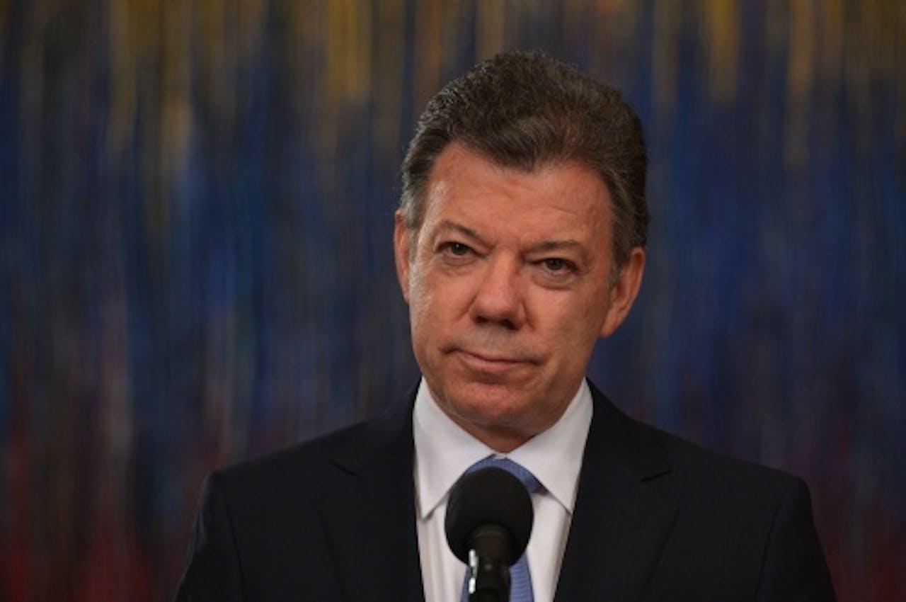 Juan Manuel Santos. EPA