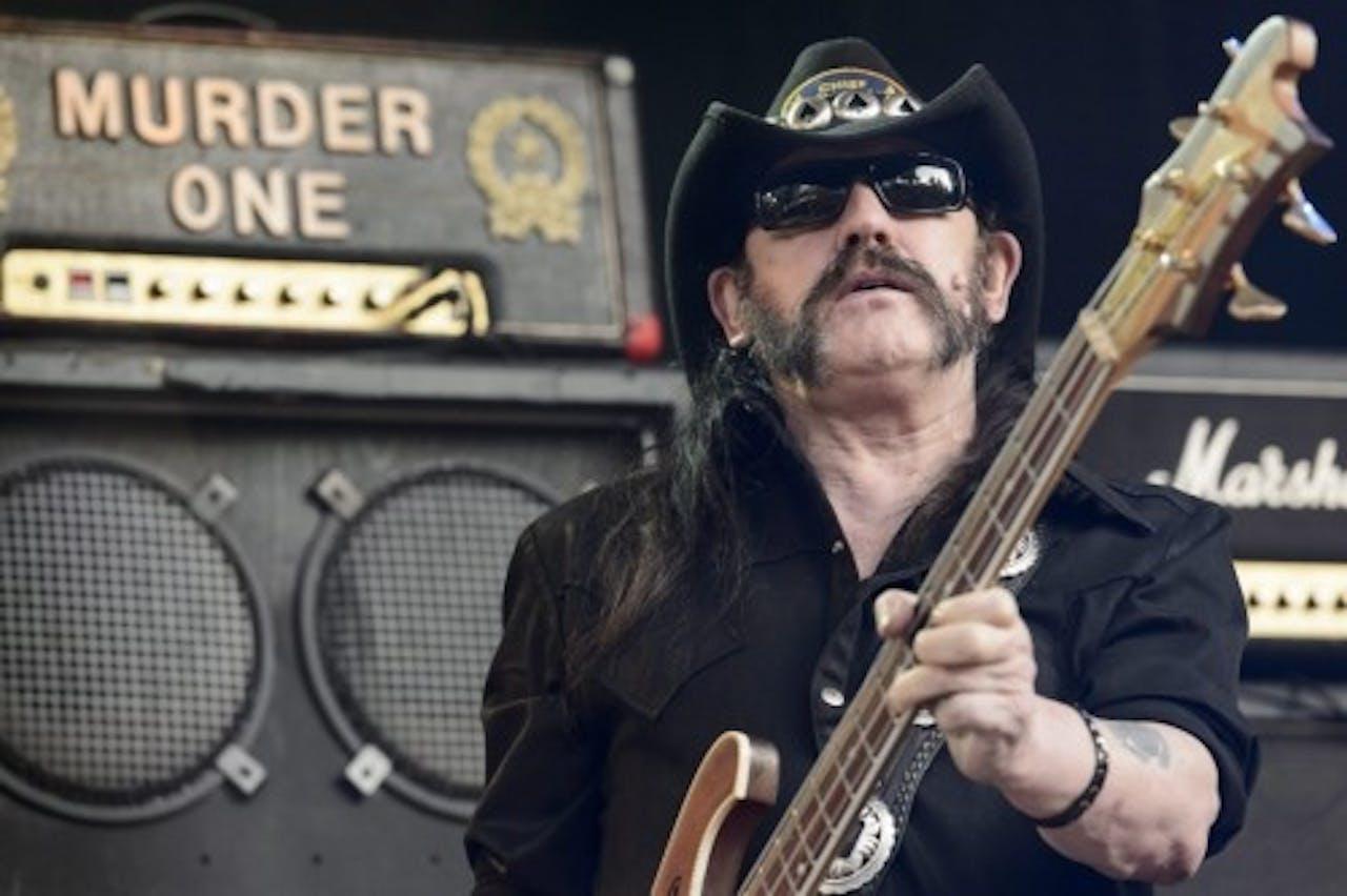 Lemmy Kilmister. EPA