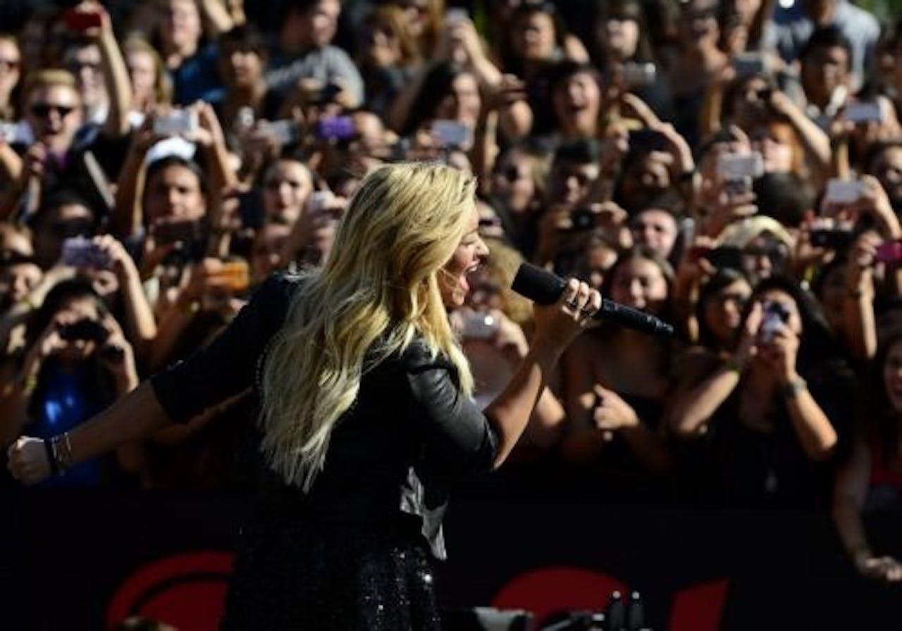 Demi Lovato. EPA