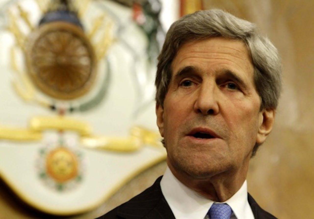 Minister van Buitenlandse Zaken John Kerry. EPA