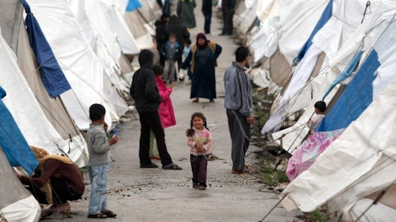 Archiefbeeld Syrische vluchtelingen in Turkije. EPA